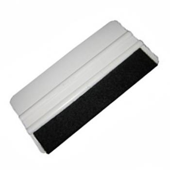 Выгонка Белая с мягкой черной тканью